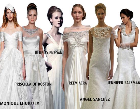 2010 Wedding Dresses With Straps